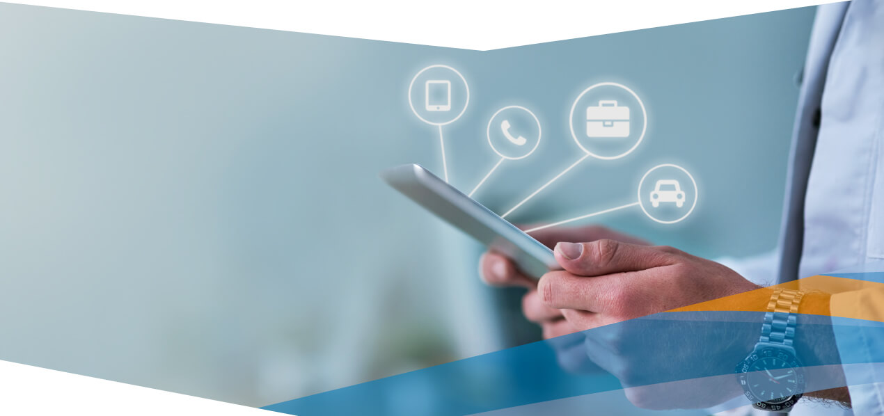 Mit mobilen Software-Lösungen unterstützt DeDeNet Außendienst, Flottenmanagement und mehr.